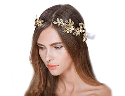 New Fashion Headband Goddess Leaf Flower Girl Hair Crown Head Piece Dress Alice Band Bridal Matching In Colour Clothing, Shoes & Accessories