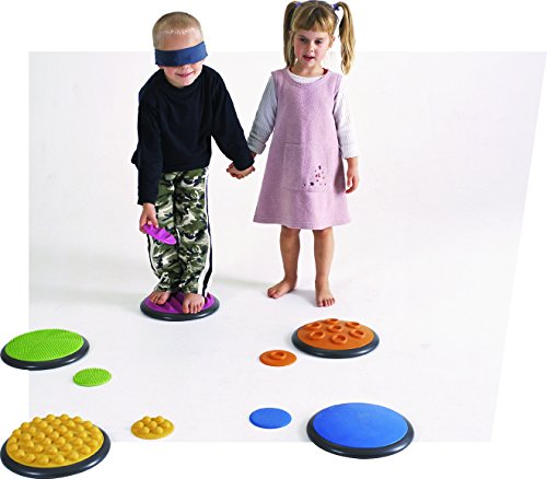 OCCUPATIONAL THERAPY TACTILE DISCS FOR AUTISM AND SENSORY INTEGRATION by (Sensory Integration Therapy Toys)