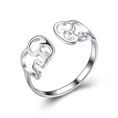 cute elephant ring - 1