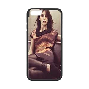 iPhone 6 4.7 Inch Cell Phone Case Black Daisy Lowe Wbxgk