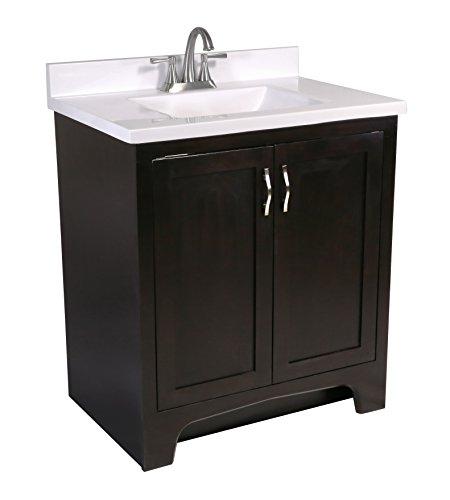 Design House 612515 Ventura 2-Door Vanity Cabinet with Si...