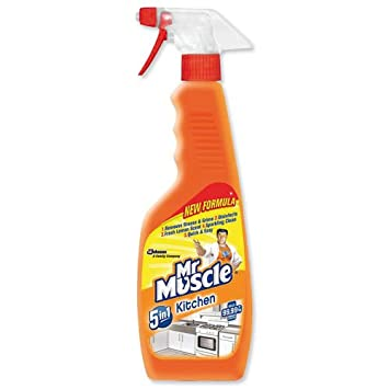 Mr Muscle Lemon Kitchen Cleaner Spray 500g
