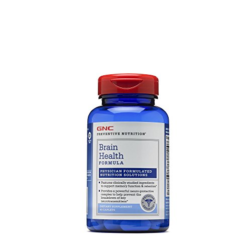 Gnc Preventive (GNC Preventive Nutrition Brain Health Formula)