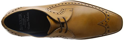 BARKER Woody, Scarpe Stringate Derby Uomo Brown (Cedar Calf)