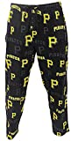 Pittsburgh Pirates Black Mens MLB Late Night Pajama Pants