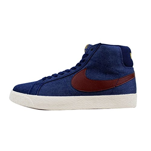 Binary Shoe Skate Red metallic Nike Zoom Dark Blazer SB Team Blue Mid Gold Men's xaqYUw0Y4