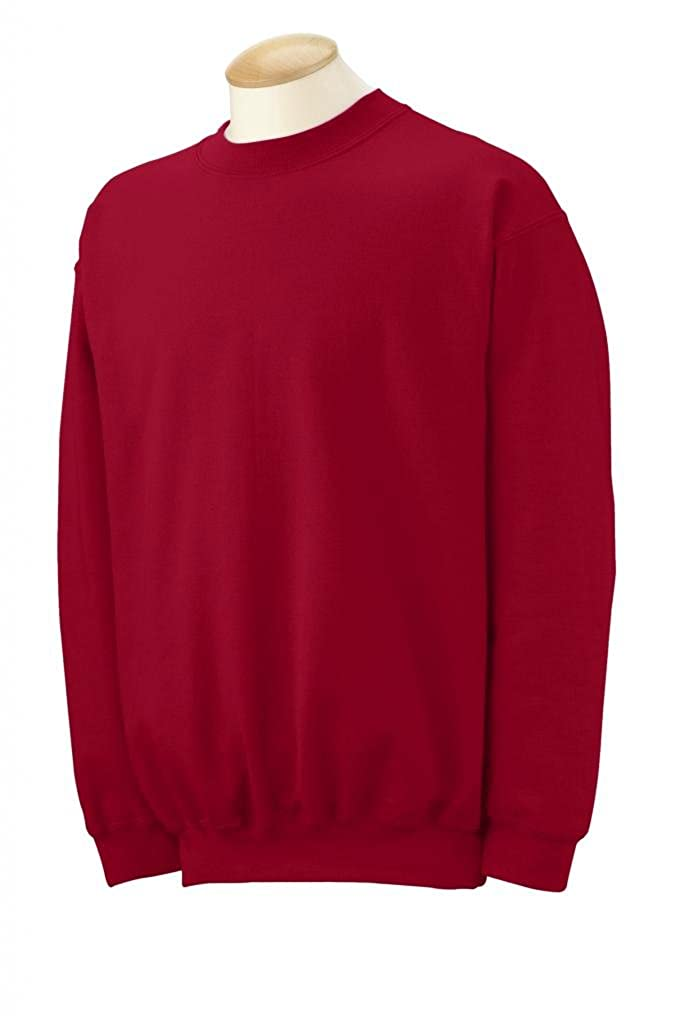 Gildan Ultra Blend 50/50 Cotton / Poly Sweatshirt - Cardinal Red 12000 - C-RED