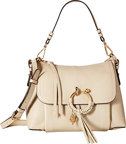 - See by Chloe Women's Joan Small Shoulder Bag, Cement Beige, One Size