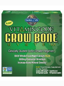 (Garden of Life Vitamin Code Grow Bone 2-pack 60 day supply)