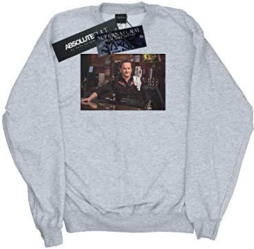 Absolute Cult Supernatural Herren Gabriel's Bar Sweatshirt Sport Grau XXXXX-Large