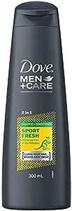 Dove Men+Care 2 in 1 Shampoo and Conditioner Wallabies Sport Fresh, 300 ml