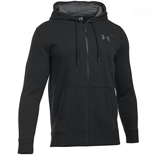 (Under Armour Storm Rival Cotton Full Zip Training Top - X Large - Black)