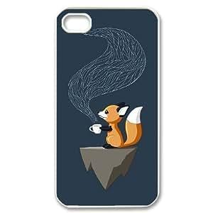 ALICASE Diy Customized hard Case Fox For Iphone 6 Plus 5.5 [Pattern-6]