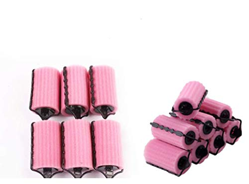 (14pcs Hair Care Roller Style Sponge Does Not Hurt Hair Curler, Hair Rollers Rolls Styling Curler Tools Foam Self Lock Holder Bun, Easy DIY Natural Way Curly)