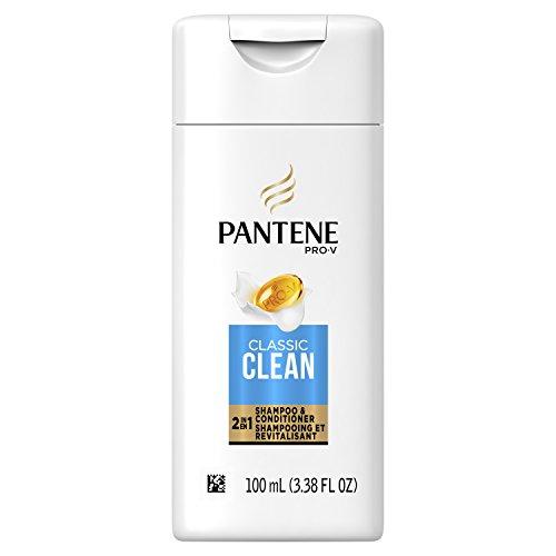 Pantene Classic Clean 2 in 1 Daily Shampoo, 3.38 Fluid Ounce