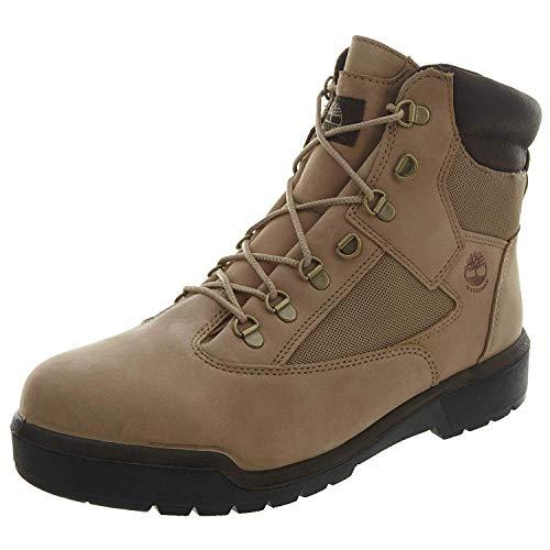 (Timberland 6 Inch Field Waterproof Men's Boots Beige Nubuck tb0a1nzk (11 D(M) US))