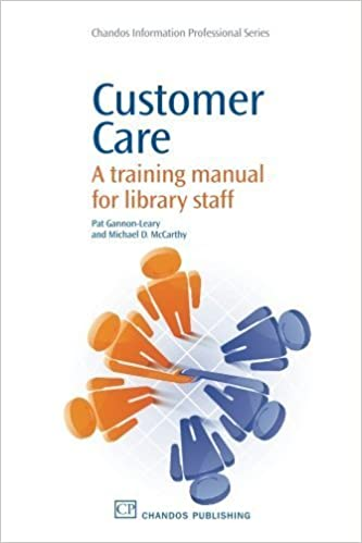 Book Customer Care: A Training Manual for Library Staff (Chandos Information Professional Series) by Pat Gannon-Leary (2010-03-29)