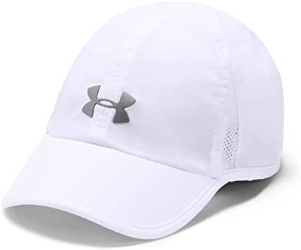 Under Armour Shadow 2.0 Gorra, Mujer, Blanco, Talla Única: Amazon ...