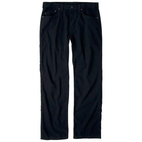 Prana Men's Bronson 30-Inch Inseam Pant, Black, 32