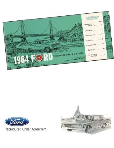 - 1964 Ford Owner's Manual