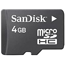 25 Pack SanDisk 4GB microSDHC Flash Memory Card SDSDQ-004G (Bulk Packaging) with USB 3.0 MicoSD & SD Memory Card Reader