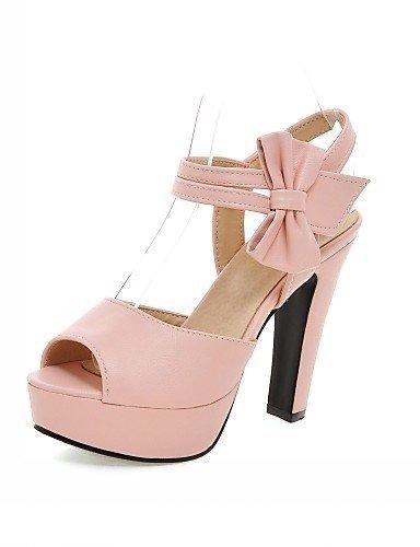 ShangYi Womens Shoes Leatherette Stiletto Heel Peep Toe Sandals Wedding / Office & Career / Party Purple