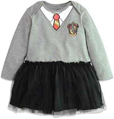 Warner Bros. Harry Potter Body Vestido de Manga Larga de Hermione ...