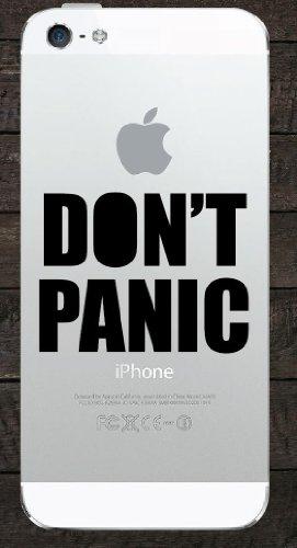 DON'T PANIC Iphone Ipad Macbook Decal Skin Sticker Laptop