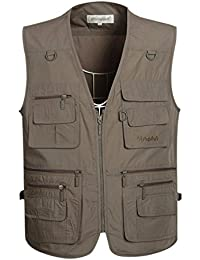 fe5c0fc0145d6d Men s Summer Outdoor Work Safari Fishing Travel Vest with Pockets