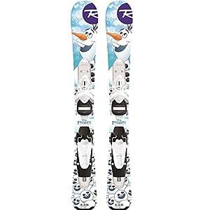 Rossignol 2019 Frozen 70cm Baby Skis w/Team 4 B76 Bindings