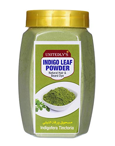 Unitedlys ® Organic Indigo Powder for Hair Care ( Green , 200 Grams )