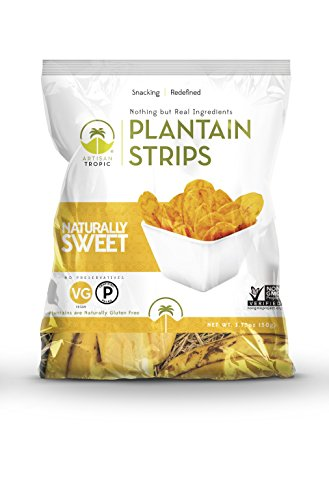 Artisan Tropic Plantain Strips: Naturally Sweet 1.75oz (16 Pack) Review