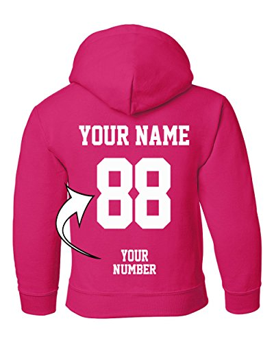 Tee Miracle Custom Hoodies For Youth - Design Your Own Jersey - Pullover Hooded Team Sweaters by Tee Miracle