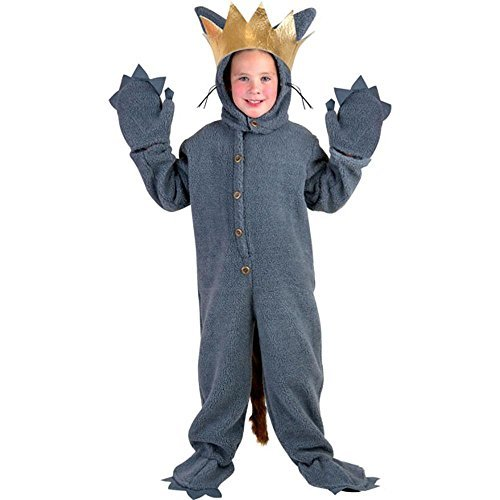 Max Wolf Suit Child's Costume Gray -