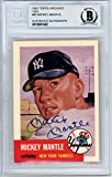 Authentic Autographed Mickey Mantle Auto 1991