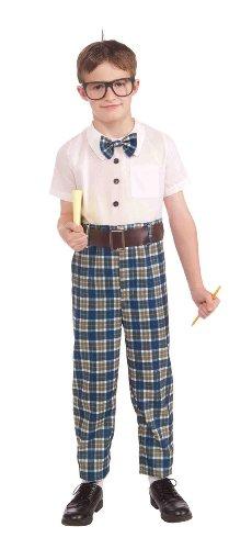Class Nerd Costumes (Forum Novelties Class Nerd Child Costume, Large)