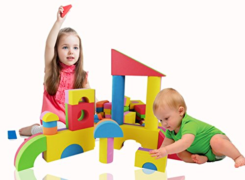 Construction Toys For Girls : Foam building blocks toy for girls and boys