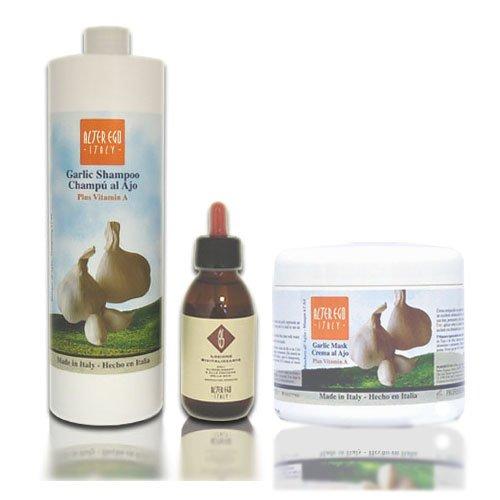 Alter Ego Garlic Regenerating SET (w/ Revitalizing Energizing Lotion) (Alter Hair Ego Care)