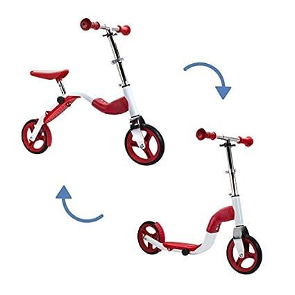 SCOOBIK Rojo - Scooter y Bicicleta 2 en 1 - by Bestial Wolf ...