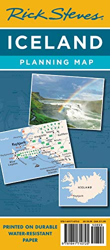 (Rick Steves Iceland Planning Map (Rick Steves Planning Maps))