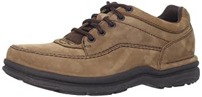 Rockport Men's World Tour Classic Walking Shoe,Chocolate Nubuck,6 W US
