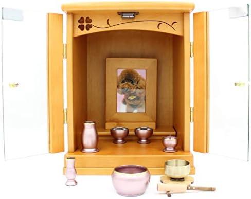 【江戸草葉~えどそうよう~】ミニ仏壇 チェリッシュ コンパクトな仏壇 ペット用にもOK