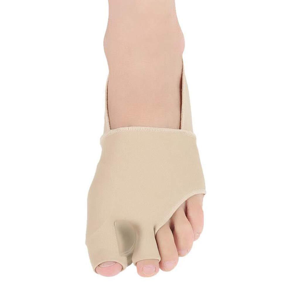 Bunion Corrector - Bunions Splint Pain Relief - Bunion Relief Protector - Hallux Valgus, Big Toe Joint, Toe Separators Spacers Straighteners (S(5-7.5))