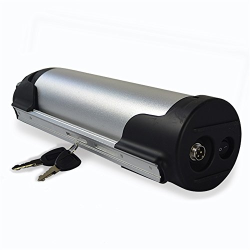 Electric Bike Kettle Battery 36V Li-ion Lithium Polymer Battery Water Bottle Shape Rechargeable Battery 10.4Ah for Electric Bike (36v Rechargeable Battery)