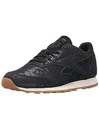 Reebok Classics Womens Women's Leather Clean Exotics Fashion Sneakers Fashion Sneakers