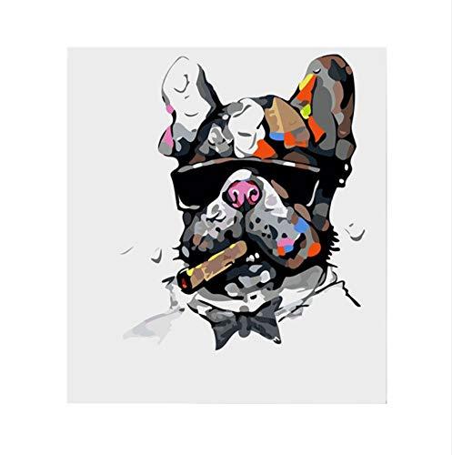 XIGZI XIGZI XIGZI Gemälde Bild Kunst Ölgemälde Kits Färbung Nach Zahlen Modul Bild Bilder Von Hand Einzigartiges Geschenk Wohnkultur Für Büro 40X50 cm,Mit Holzrahmen,B B07MZ4VP2S | Große Ausverkauf  ff236e