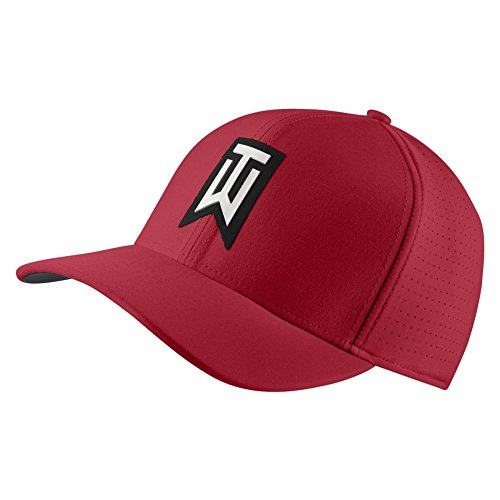 Nike TW AeroBill Classic 99 Performance Golf Cap 2019 Gym Red/Anthracite/White Medium/Large