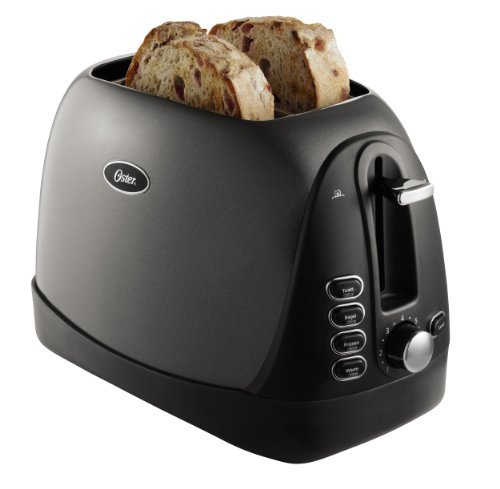 Oster TSSTTRJBG1 Jelly Bean 2-Slice Toaster, Grey by Oster