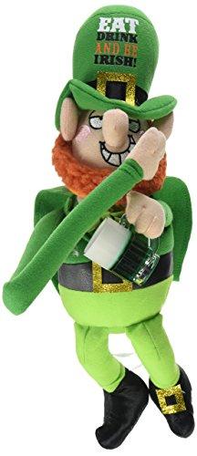 Amscan 395446 St. Patrick's Day Drinking Leprechaun Pal, 12