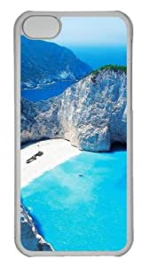 Abandoned Boat Custom iPhone 5C Case Cover Polycarbonate Transparent